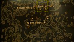 Nelson barracks map