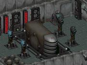 SAD Skynet main interface terminal