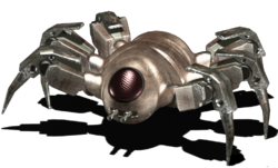 Scurry robot render