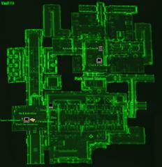 Vault 114 map
