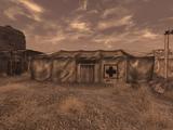 Camp Forlorn Hope medical center