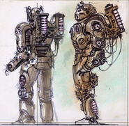 Enclave power armor CA10