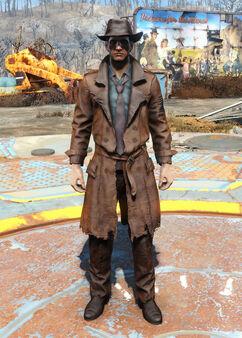 FO4CC Detective's coat and hat