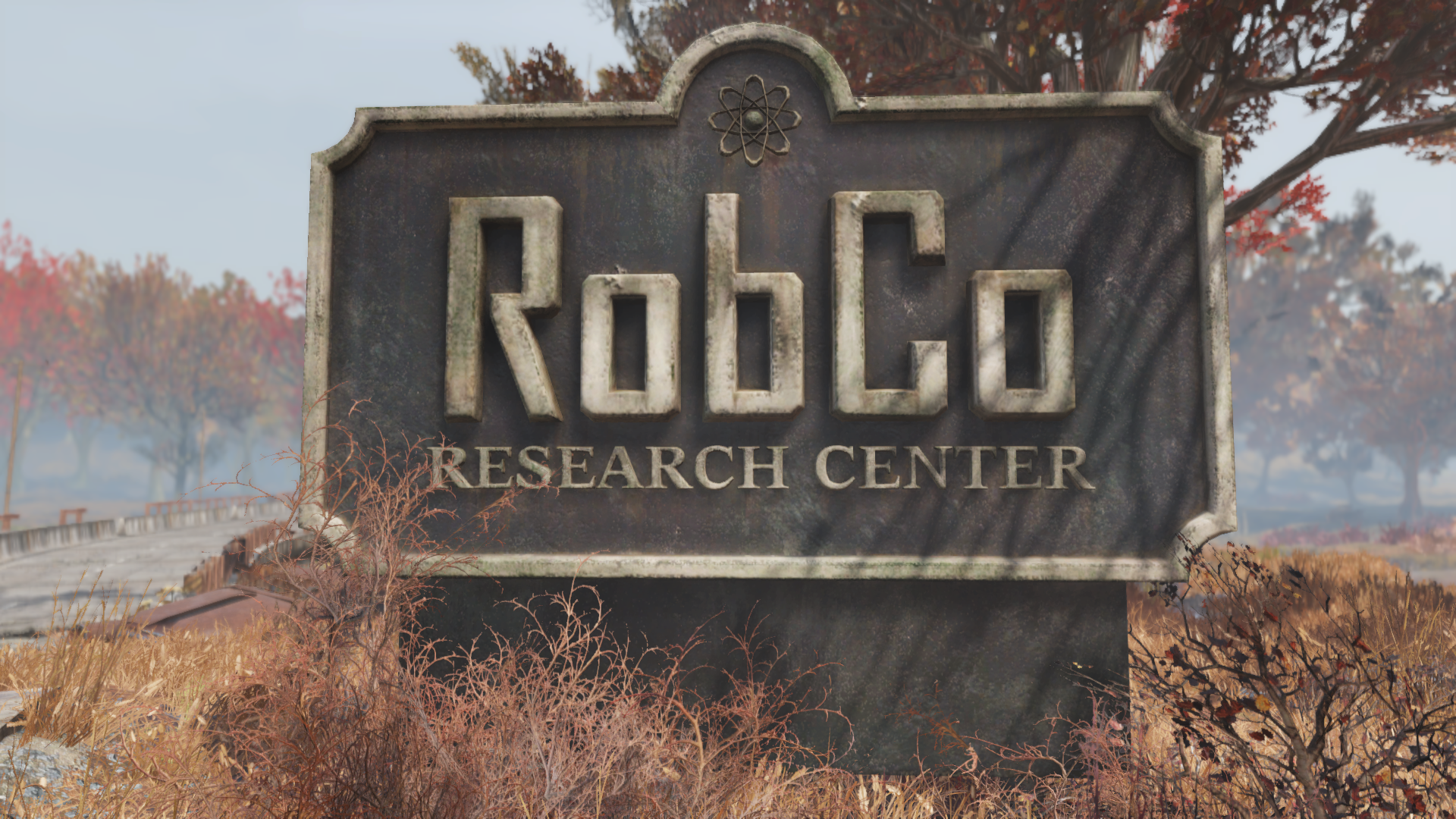 FO76 RobCo Research Center sign
