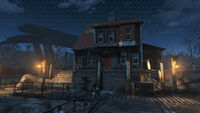 Fo4FH Nakano residence at night