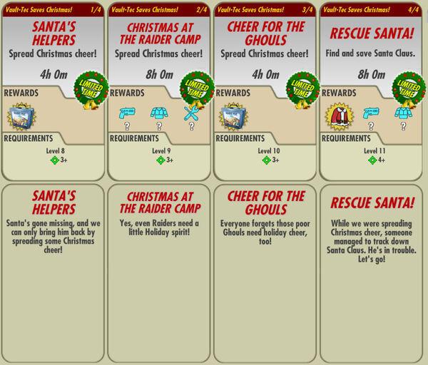 FoS Vault-Tec Saves Christmas! all