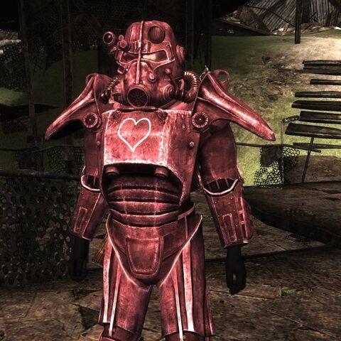 Надіта рожева силова броня