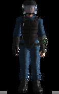 Vault 101 security armor female