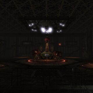 «X-42 Лабораторія бойових роботів» всередині