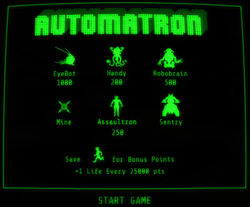 Automatron holotape enemy overview