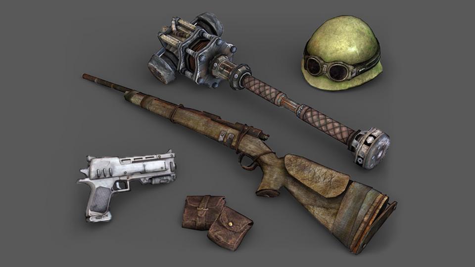 FO3 items concept art