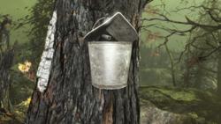 FO4FH Sap bucket open