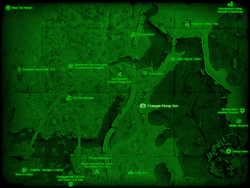 FO4 Станция Ревир-Бич (карта мира)
