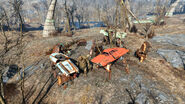 FO4 Car wreckage