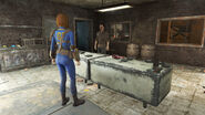FO4 Theodore Collins and Trader Rylee