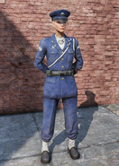 FO76 Military Officer Uniform Full Female