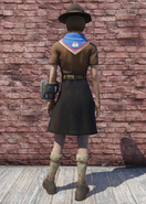 FO76 Pioneer Scout Possum Back
