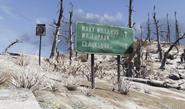 FO76 Road sign Wavy etc