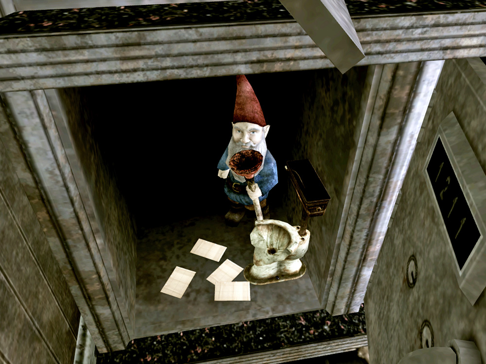 Gnome with plunger