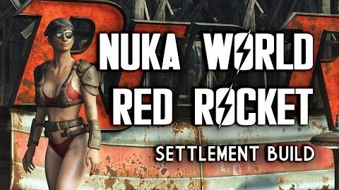 "Nuka World Red Rocket ""Lived-In"" Settlement Build - Fallout 4 Nuka World DLC"