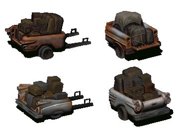 Brahmin cart | Fallout Wiki | FANDOM powered by Wikia
