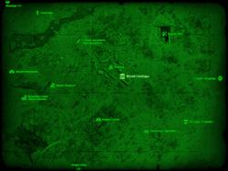 FO4 Музей Свободы (карта мира)