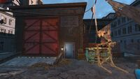 FO4 Hardware Town back entrance
