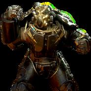 FO76 Atomic Shop - Nukashine power armor skin