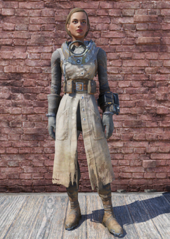 FO76 Science Scribe's Uniform