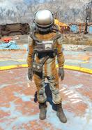 Fo4 hazmat suit female
