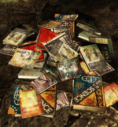 Mirar Pile of Books