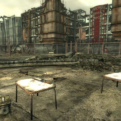 Depot courtyard loot