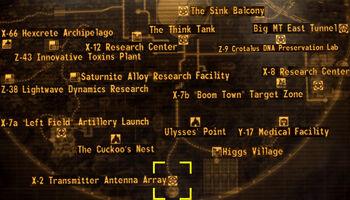 X-2 transmitter antenna array   Fallout Wiki   FANDOM
