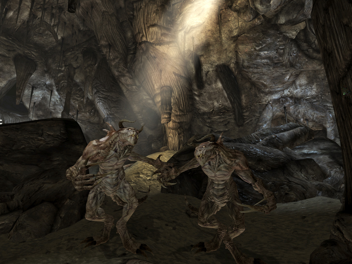 Deathclaws in DS
