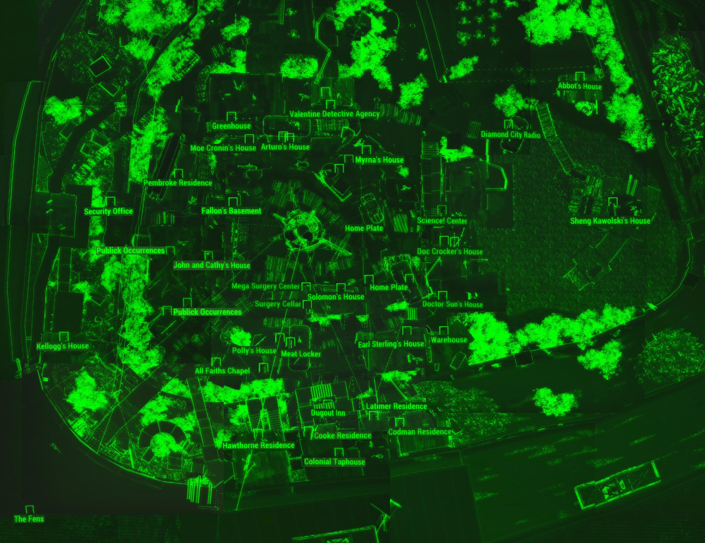 Diamond City Fallout Wiki Fandom