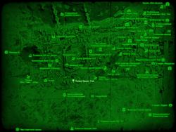 FO4 Тупик Эванс-Уэй (карта мира)