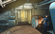 FO4 Vault81Secret Bobby de Luca opens the door