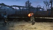 FO4 assaultron running bug