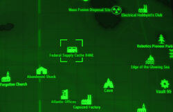 FO4 map Federal Supply Cache 84NE