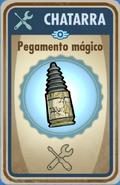 FOS Pegamento mágico carta