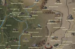 Morgantown Station map
