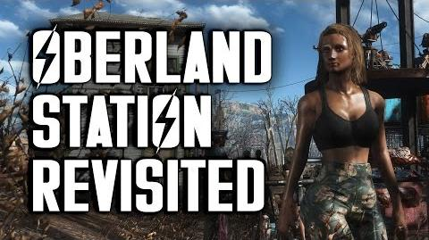 "Oberland Station Revisited - ""Lived-in"" Settlement Build - Fallout 4"