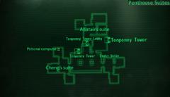 TT penthouse suites map