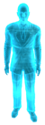 Vendedor holograma