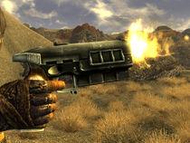 127mm pistol side shot