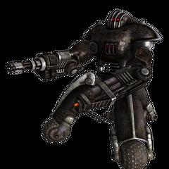 Робот-охоронець Анклаву з мініганом