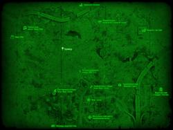 FO4 Bunker Raider radio signal wmap