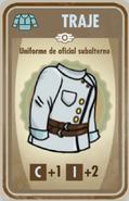 FOS Uniforme de oficial subalterno carta