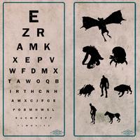 Fo76 Vault 51 eye chart