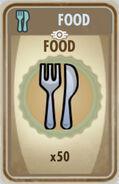 FoS Food Card